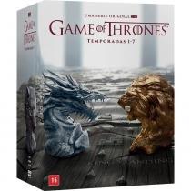 Box Game of Thrones Temporadas 1-7 35 DVDs - Warner