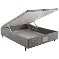 Box para Colchão Casal com Baú 46 cm de Altura - Herval Ideal