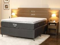 Box para Colchão Casal Ortobom 138x188cm - Silver Premium