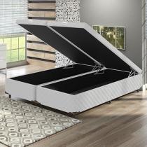 Box para Colchão Queen Size LightSpuma com Baú - Bipartido 38 cm de Altura Imperador