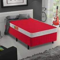Box para Colchão Solteiro Celuplás 29cm de Altura - Color Block Box Color