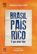 Brasil - Pais Rico - Elsevier editora