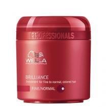 Brilliance Wella - Máscara para Cabelos Normais Coloridos - 150ml - Wella Professionals