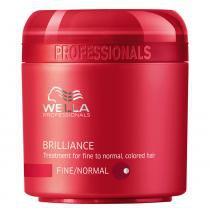 Brilliance Wella - Máscara para Cabelos Normais Coloridos - 500ml - Wella Professionals