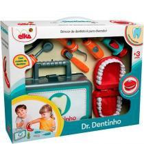 Brincando De Profissões Dr. Dentinho C/acessorios - Elka - Elka