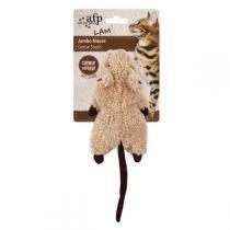 Brinquedo AFP Roedor Marrom com Catnip para Gatos - All For Paws