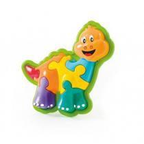 Brinquedo Animal Puzzle Dino 854 - Calesita - Calesita