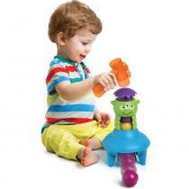 Brinquedo - Bate Bolinha Disco Voador - Elka - Elka