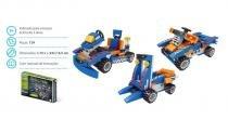 Brinquedo Blocos De Montar Com 124Pçs Evolution 3 Em 1 - Sertic