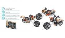 Brinquedo Blocos De Montar Com 142Pçs Evolution 3 Em 1 - Sertic