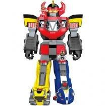 Brinquedo Boneco Gitante Imaginext Power Ranger Megazord - Imaginext -