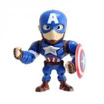 Brinquedo Boneco Marvel Civil War Capitão América 4018 - DTC - DTC