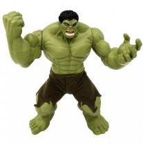 Brinquedo Boneco Marvel Hulk Verde Premium Gigante 55 cm - Mimo -