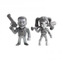 Brinquedo Bonecos Jada Suicide Squad 10 cm Twin Pack 3955 - DTC - DTC