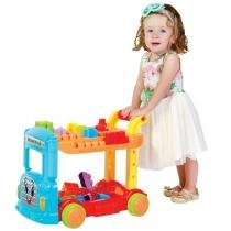 Brinquedo Caminhão Blocos De Montar Maral Bricks Truck 2023 -