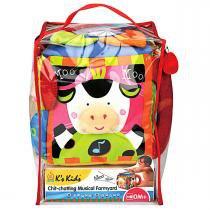 Brinquedo de Atividades Ks Kids Fazenda Musical - KS Kids