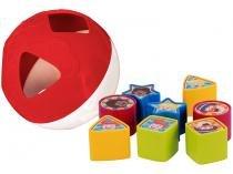 Brinquedo de Encaixar Mundo de Bita - Bola de Formas Yes Toys 10 Peças
