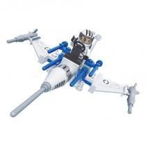 Brinquedo de Montar Nave Caça com 58 Pcs - PlayCIS