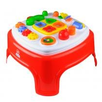 Brinquedo Educativo Mesinha Encantada Calesita Laranja Escur - Calesita