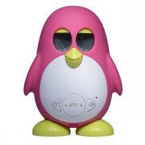 Brinquedo Elétrico Infantil Pinguim Marbo Rosa Basall -