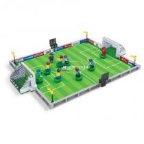 Brinquedo Futebol para Montar com 251 Pcs - PlayCIS