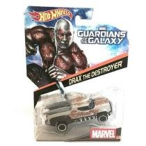 Brinquedo hot wheels carros marvel, 1 peca - drax the destroyer - bdm71 - Mattel
