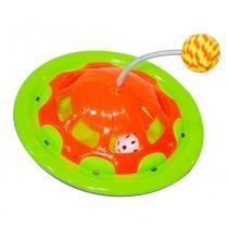 Brinquedo interativo navcat laranja e verde - Truqys pets