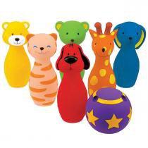 Brinquedo Ks Kids Boliche Amigos Divertidos - KS Kids