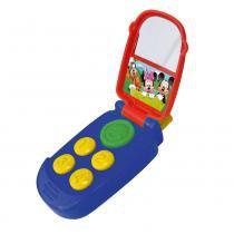 Brinquedo Musical - Mickey Mouse e Seus Amigos - Telefone - Yellow - Yellow