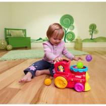 Brinquedo Musical - Trenzinho Surpresa com Lança Bolinhas - Playskool - Hasbro - Hasbro