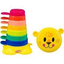 Brinquedo para Bebê Leãozinho de Encaixar - Playskool Hasbro