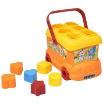 Brinquedo para Bebê Ônibus de encaixar - BBR Toys