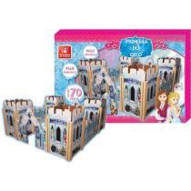 Brinquedo Para Montar Castelo Princesa Do Gelo Madei Brinc. De Crianca - Brinc. De Crianca
