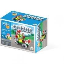 Brinquedo Para Montar Cidade Carrinho Tour 32Pcs Play Cis - Play Cis