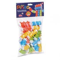 Brinquedo Para Montar Super Pinao 26 Pecas Elka - Elka