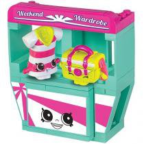 Brinquedo Shopkins Kinstruction Mini Pack - Wekeend Wadro 62 Peças DTC