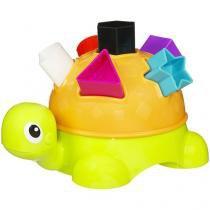 Brinquedos para Bebê Playskool Tartaruga de Formas - Hasbro