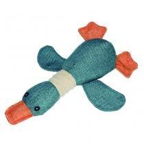 Brinquedos para Pet - Natural Duck - Azul - Pet Brink - Novabrink