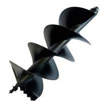 Broca para perfurador de solo com duplo espiral 150 x 800 mm - TEA52XPH - Toyama - Toyama