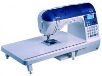 Brother nx 450q - máquina de costura com 168 e 3 tipos de letras, especial para quilting. -