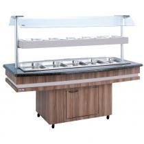 Buffet Self Service Conjugado RF130 Frilux -