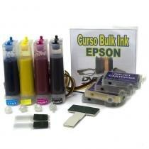 Bulk Ink com Tinta Corante para Modelos de Impressora EPSON TX400 e TX41 VISUTEC -