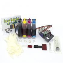 Bulk Ink para Impressora  Epson Modelo TX420 com 400ml de Tinta Corante VISUTEC -