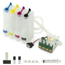 Bulk Ink para Impressoras Epson Modelos T25, TX125, TX123, TX133 e TX135 (Sem Tinta) VISUTEC -