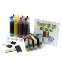 Bulk Ink para Impressoras Epson Tinta Sublimática para Modelos: TX400 e TX410 VISUTEC -
