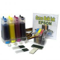 Bulk Ink TX200, TX210, TX300F com Tinta Sublimática - VISUTEC -