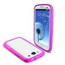 Bumper Samsung Galaxy S3 Ibelt Rosa - Muvit - Muvit