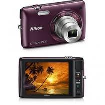 C-mera Digital Nikon Coolpix Ameixa 16 MP Zoom Óptico 6x Tela - Nikon