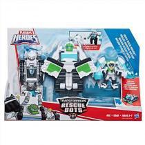 C0212 transformers playskool boulder resgate ártico - Hasbro