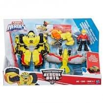 C0212 transformers playskool bumblebee resgate na montanha - Hasbro